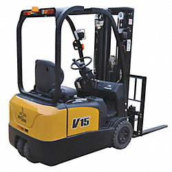 Rider Forklift, 2800 Lb, Lift Ht 188 In