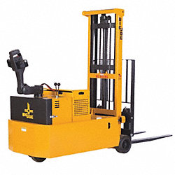 Cntrbalncd Stacker, 2500 lb, 158 In Lift