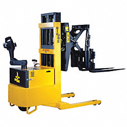 Reach Strdl Stacker, 3000 lb, 130 In Lift