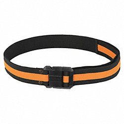 Sling Belt, 30 to 54 In Waist, Blk/Ylw