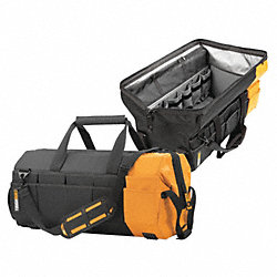 Tool Bag, 32x7x14 In, Blk/Ylw