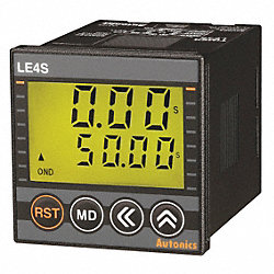 LCD Digital Timer, Digital4, On-Start