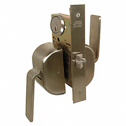 Lockset, Push/Pull, Mortise, Storeroom