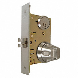 Antiligature Mortise Lockset, Knob, 5SS55