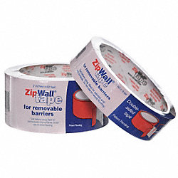 Dust Barrier Door Tape, 2 In