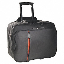 Roller Laptop Case, Black, 16.1 In.
