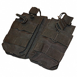 MOLLE Pocket, Dbl Stack M4 Mag, OD Green