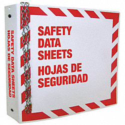 MSDS Binder, Bilingual