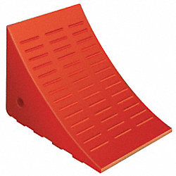 Wheel Chock, W7-5/8xH8-1/4xL11-3/8, Orange