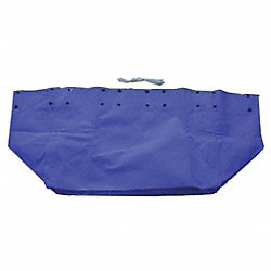 Replacement Liner, 16 Bushel, Vinyl, Blue