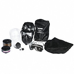 Mask Kit, Twin Port, Rubber, PU Lens, M