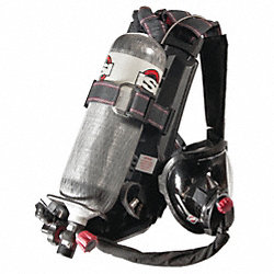 SCBA, 30min, 2216psi, AirSwitch Mask, S