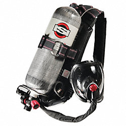 SCBA, 45min, 4500psi, AirSwitch Mask, M
