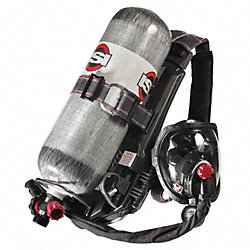 SCBA, 60min, 4500psi, AirSwitch Mask, S