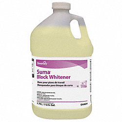 Block Whitener, 1 gal, PK 4