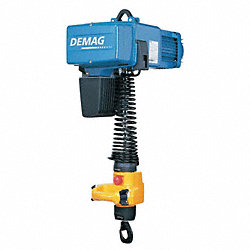 Electric Chain Hoist, 550 lb., 64/16 fpm