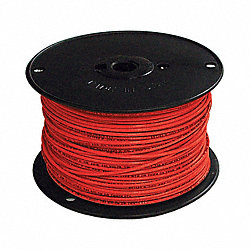 Building Wire, Commercial, 18 AWG, Red
