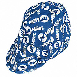 Welding Cap, Color Black/Blue, 7