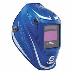 Welding Helmet, Digital Performance, Blue