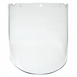 Faceshield Visor, V-Gard Frames, PC, Clear