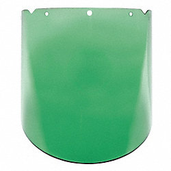Faceshield Visor, V-Gard Frames, PC, Green