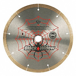 Tile Saw Blade, Wet, 7 In Dia, 8730 RPM