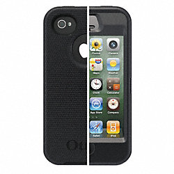 Defender Case, iPhone 4S, Black