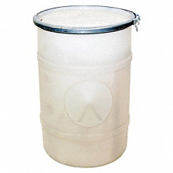 Oil Spill Kit, 72 gal, Drum w/Lid