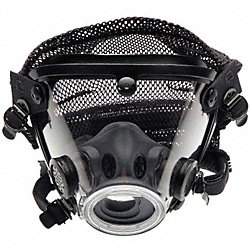 Full-Face Respirator, Poly Headnet, XL