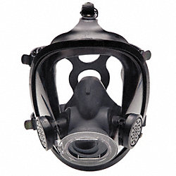 Full-Facepiece Respirator, Rubber, M