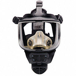 Full-Face Respirator, Poly Headnet, S