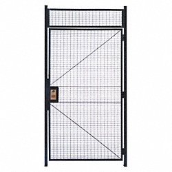 Hinge Door , Woven Wire Partition