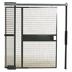Slide Door, Woven Wire Partition