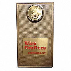 Hinged Door Cylinder Lock- Keyed Alike