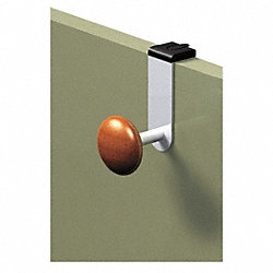 Cubicle Garment Hook, Over Panel, 1 Hook