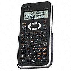 Scientific Calculator, LCD, 12 Digit