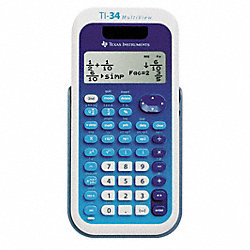 Scientific Calculator, LCD, 16x4 Digit