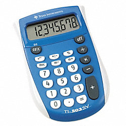 Pocket Calculator, LCD, 8 Digit