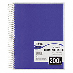 Notebook, 11 x 8-1/2 In.