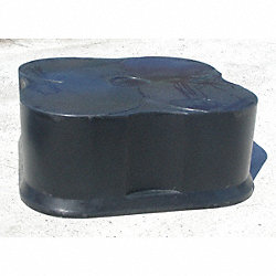 Cover for 4 Drum Basin, Black
