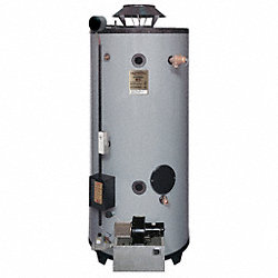 Water Heater, Com, 76 gal, Natural Gas