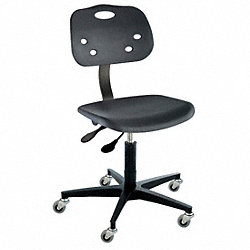 Ergonomic Chair, Black, Poly