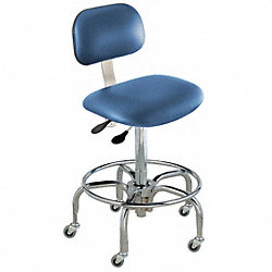 Ergo Chair, Royal, Vinyl, Class 100