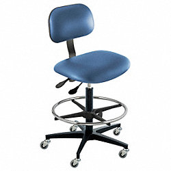 Ergonomic Chair, Royal, Vinyl