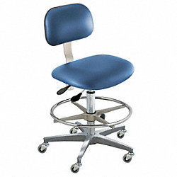 Ergo Chair, Royal, Vinyl, Class 1000