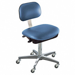 Ergo Chair, Royal, Vinyl, Class 10