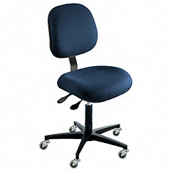 Ergonomic Chair, Navy, Cloth