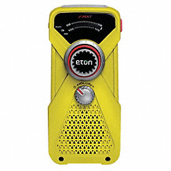 Handheld Multipurpose Weather Radio, Yell