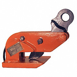 Clamp, Horizontal Locking, Cap 6000 Lb, PK2