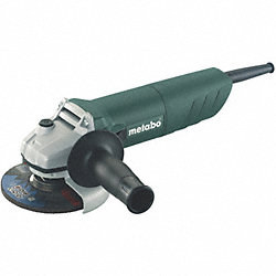 Right Angle Grinder, 6.2 A, 4-1/2 In